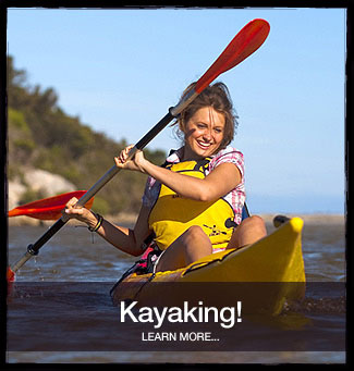 banner kayaking